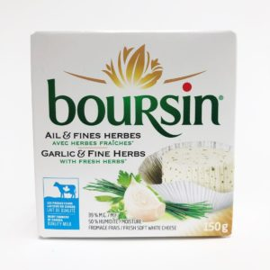 Boursin Garlic and Fine Herbs - 150g