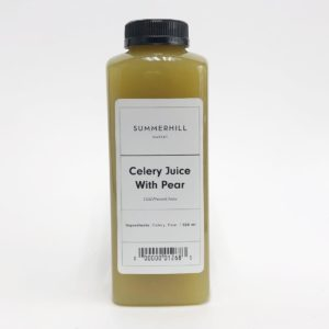 Celery Juice With Pear