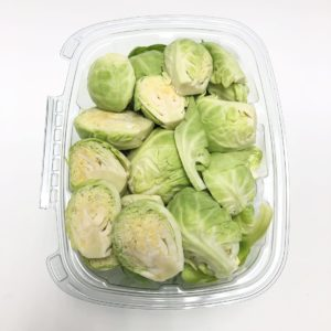 Cut Brussel Sprouts