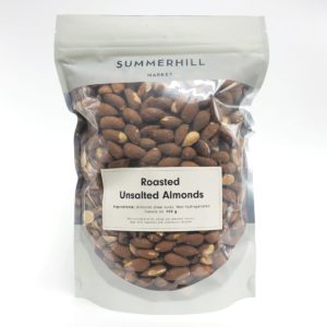 Unsalted Roasted Almonds - Large Bag