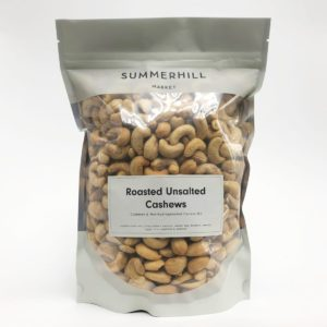 Unsalted Roasted Cashews - Large Bag