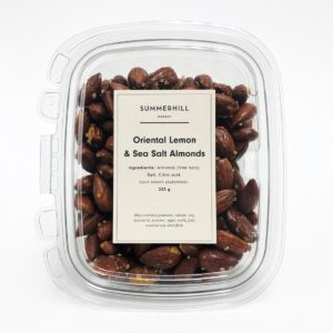 Lemon & Sea Salt Almonds