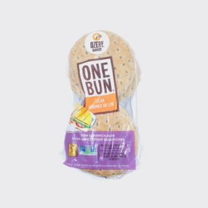 Ozery Bakery One Bun Flax Sandwich Rounds - 8pcs