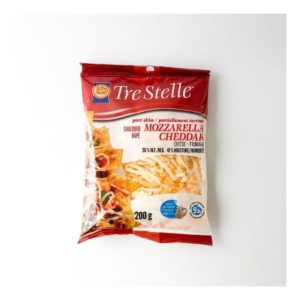 Tre Stelle Shredded Mozzarella Cheddar
