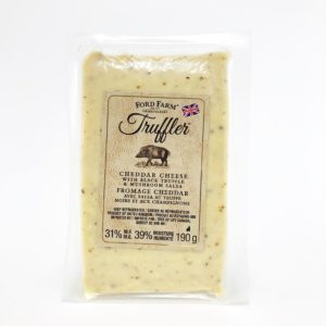 Ford Farm's Truffler Cheddar Cheese