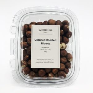 Unsalted Roasted Filberts
