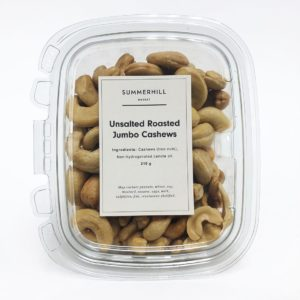 Unsalted Roasted Cashew